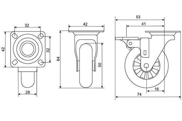 Специфика мебельных колес и роликов