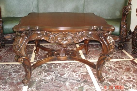 Статусная деревянная резная мебель