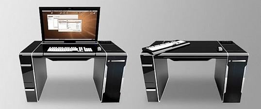 Стол для повседневного работы в минималистическом стиле