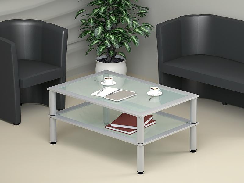 Столик серого цвета