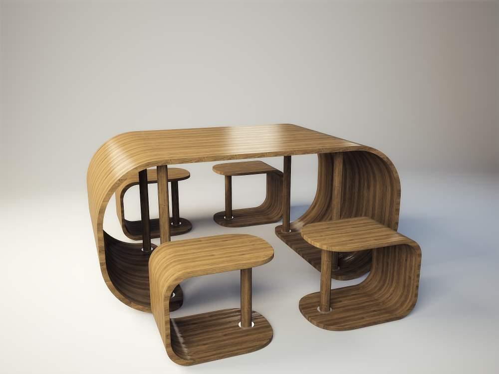 Столы и стулья для обустройства гостиной