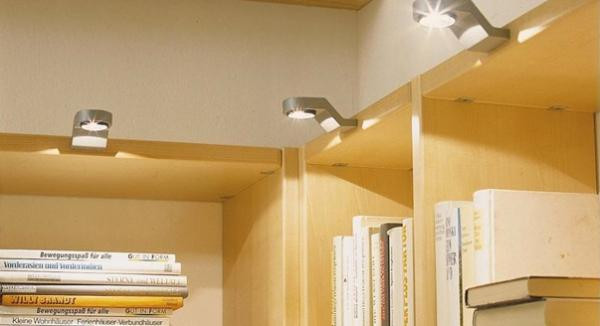 Светильники для мебельных полок