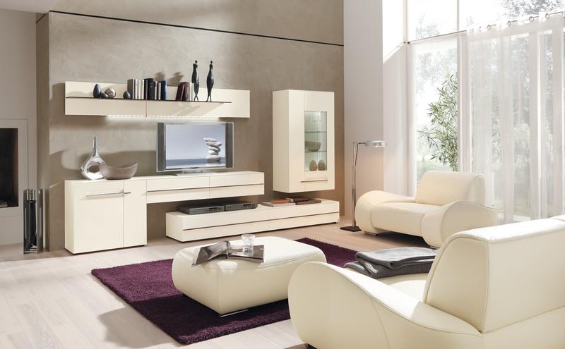 Светлая модная мебель