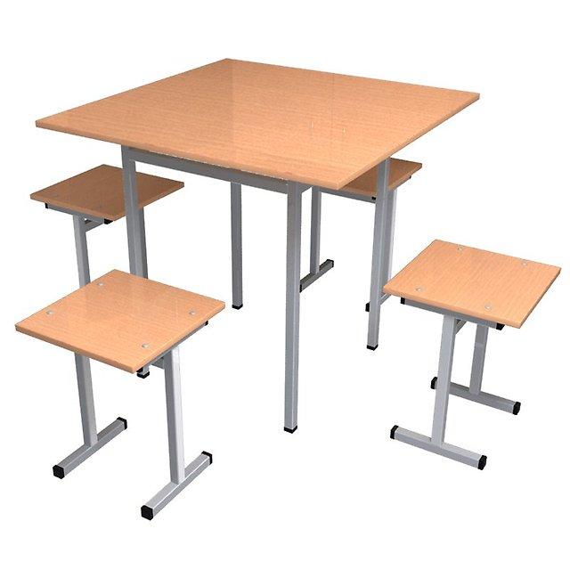 Табуреты и стулья из прочного металла