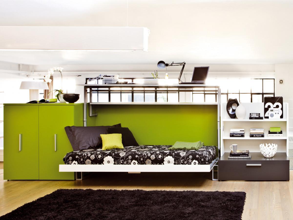 Трансформируемая мебель для небольшой комнаты