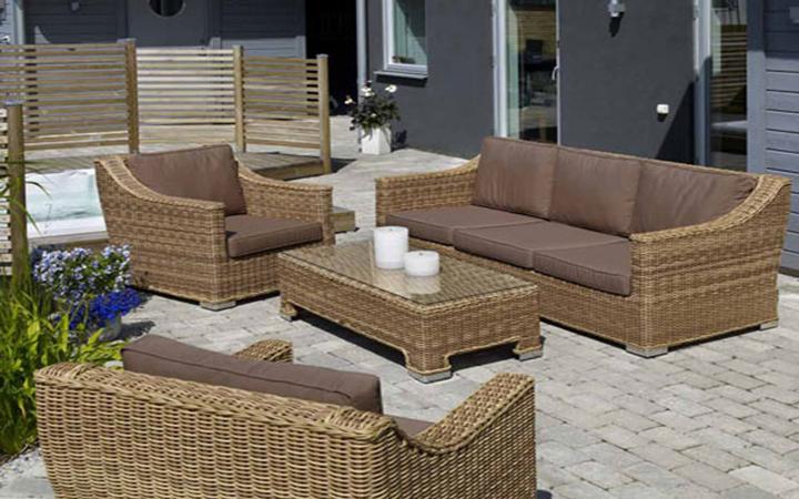 Удобная мебель для террасы