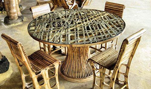 Уход за бамбуковой мебелью