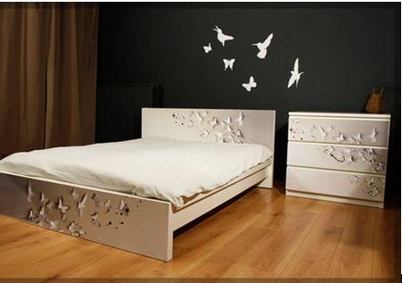 Украшаем кровать в спальне