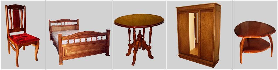 Варианты мебели из экологичного практичного массива