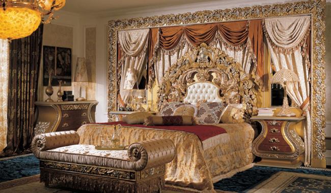 Величественная спальня