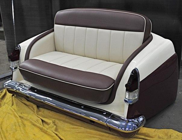 Вот ещё несколько примеров авто-мебели