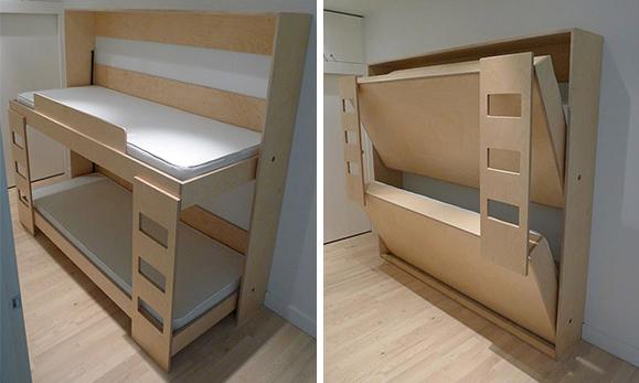 Встроенная кровать для спальни