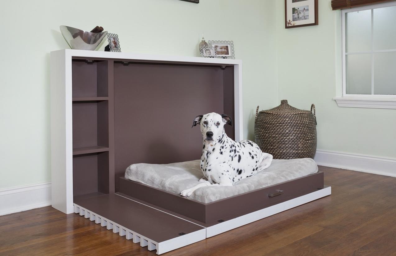 Встроенная кровать небольшого размера