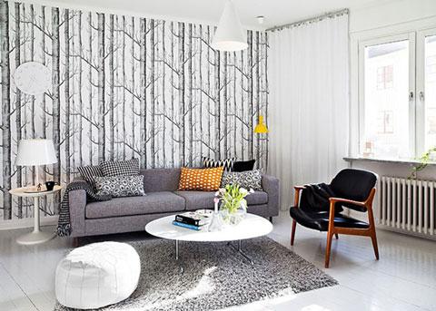 Выбор мебели серого цвета