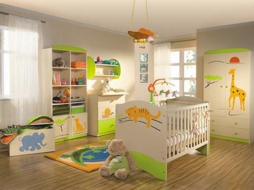 Яркая комната ребенка