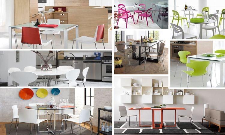Яркие кухонные стулья