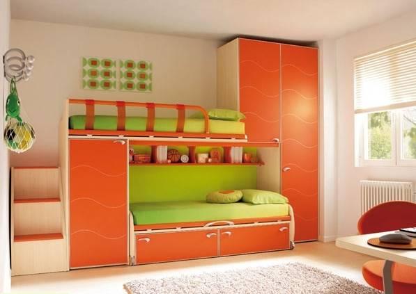Яркие предметы мебели