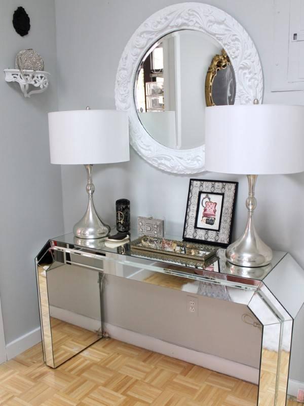 Зеркальная мебель для эффектного интерьера