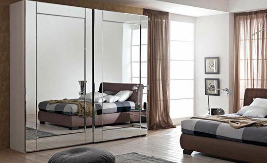 Зеркальная мебель - изюминка современного интерьера