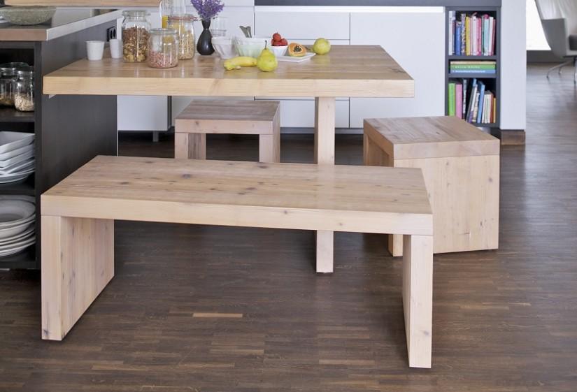 Мебель из березы на кухню