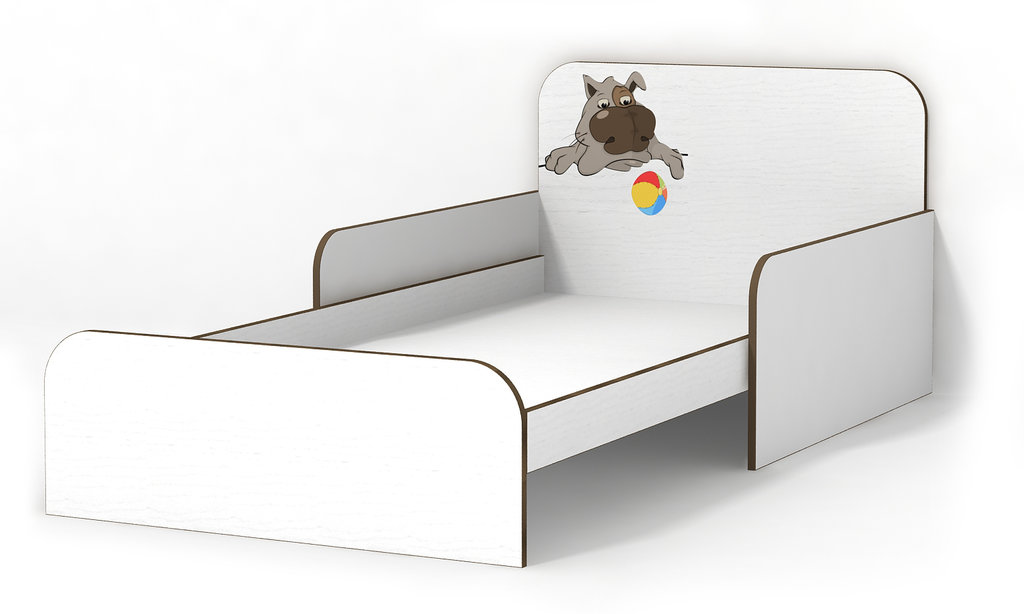 Белая мебель с приятным декором