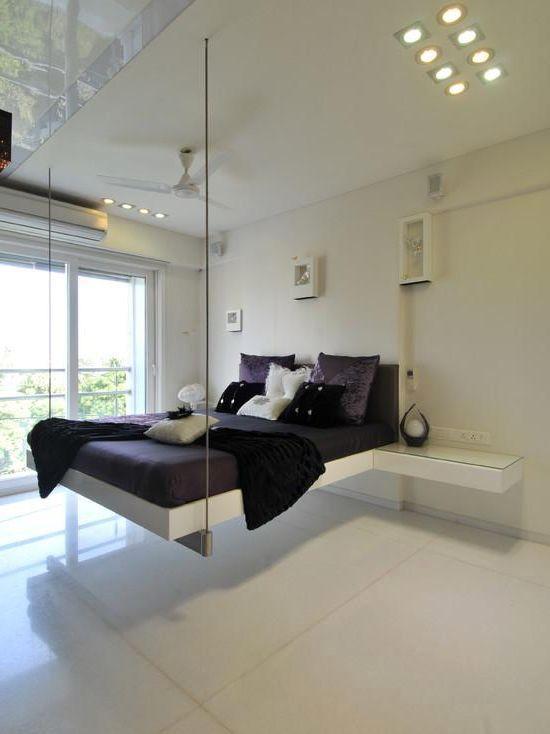 Белые оттенки интерьера комнаты