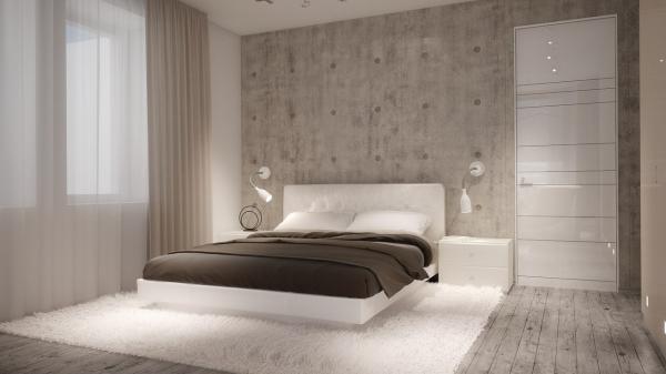Белые оттенки современной мебели