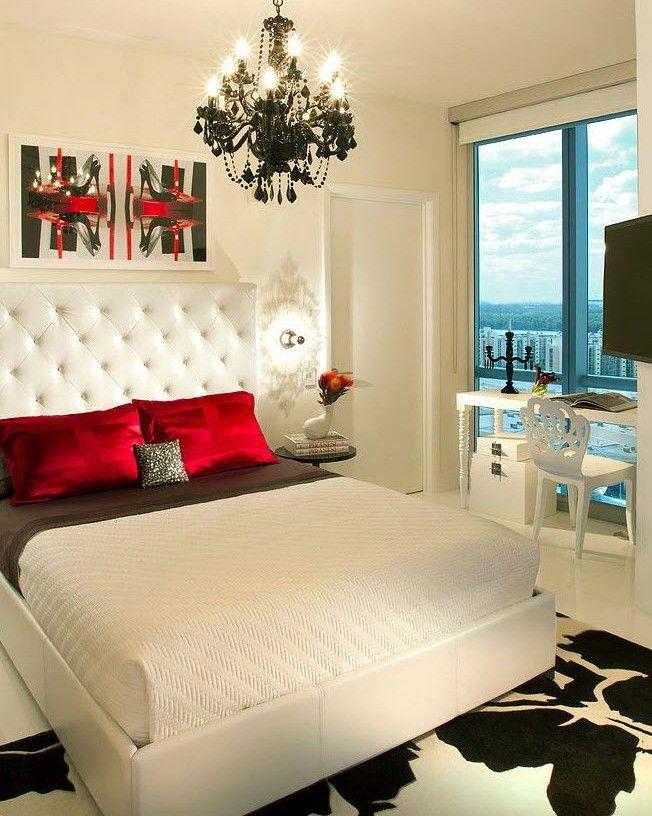 Белый цвет в спальне