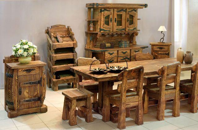 Беседки и мебель из бревна