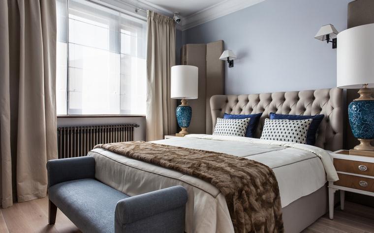 Богатый интерьер спальни
