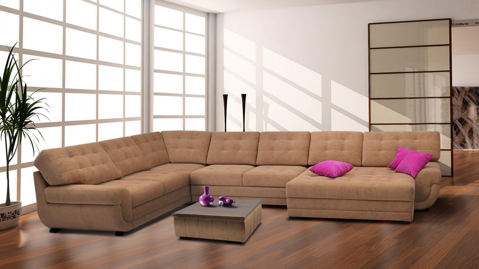 Большая мягкая мебель
