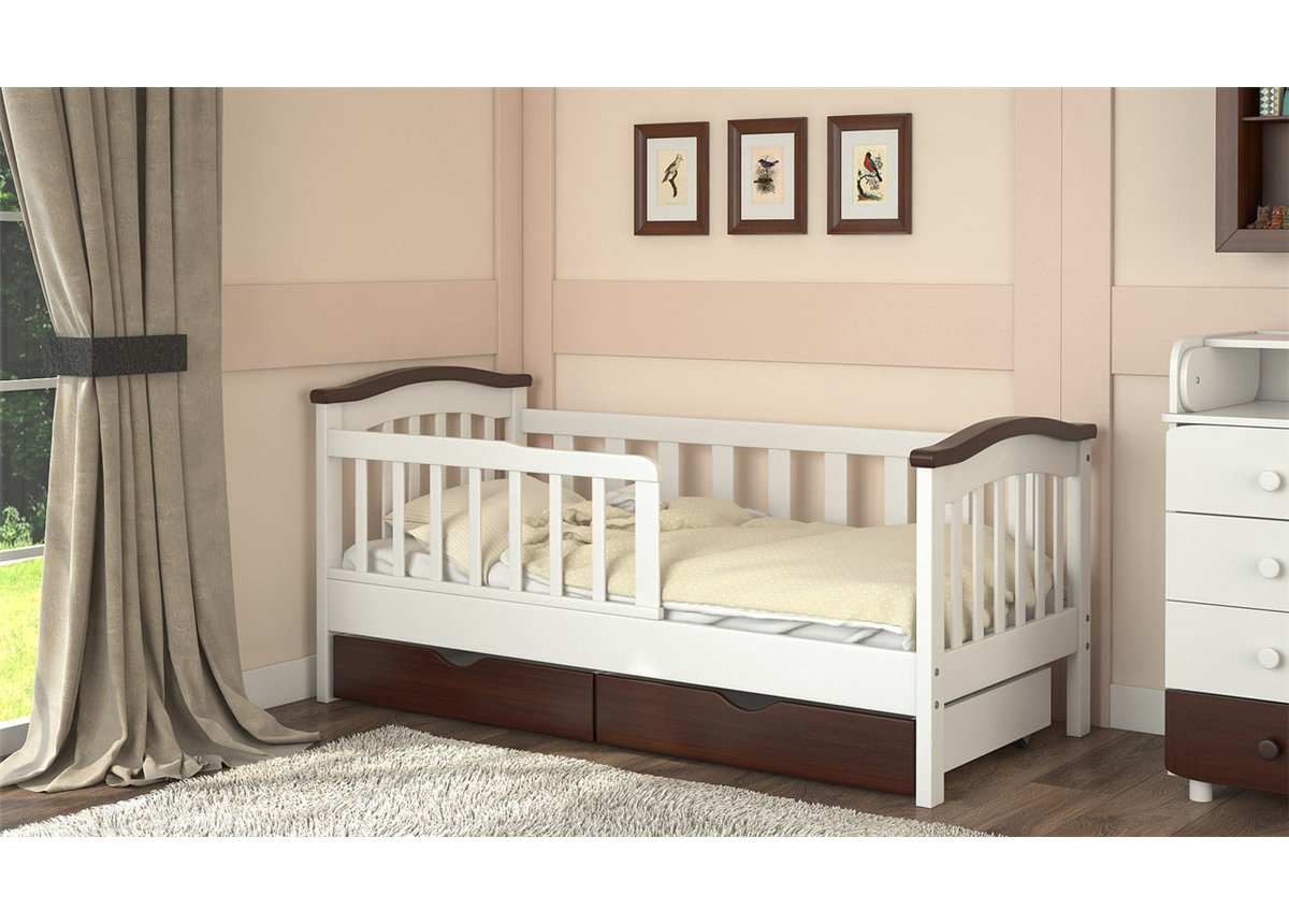 Бортики для кровати ребенка в стиле классика