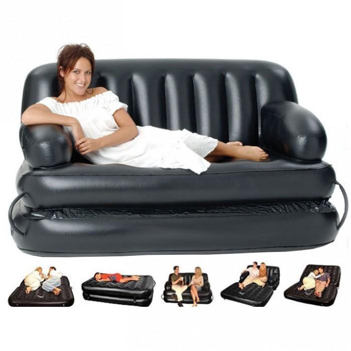 Чем отличается надувная мебель