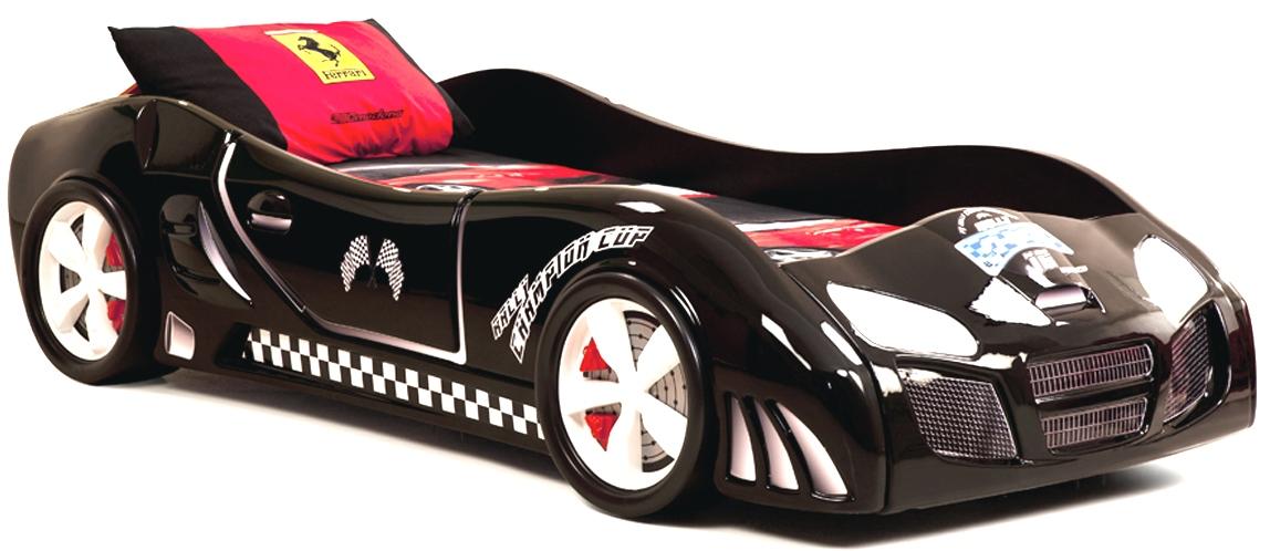 Черная кровать Calimera Turbo