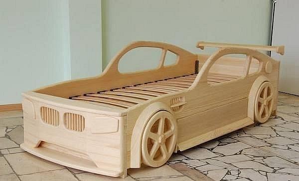 Декоративная детская мебель из массива дерева