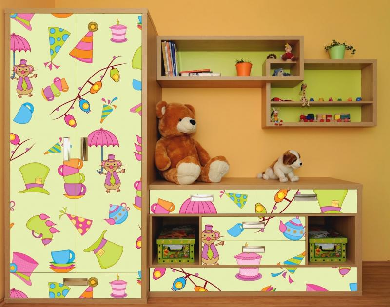Декорирование детской мебели