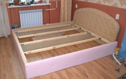 Делаем раму для двуспальной кровати