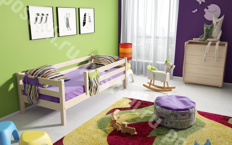 Деревянные предметы мебели для сна ребенка