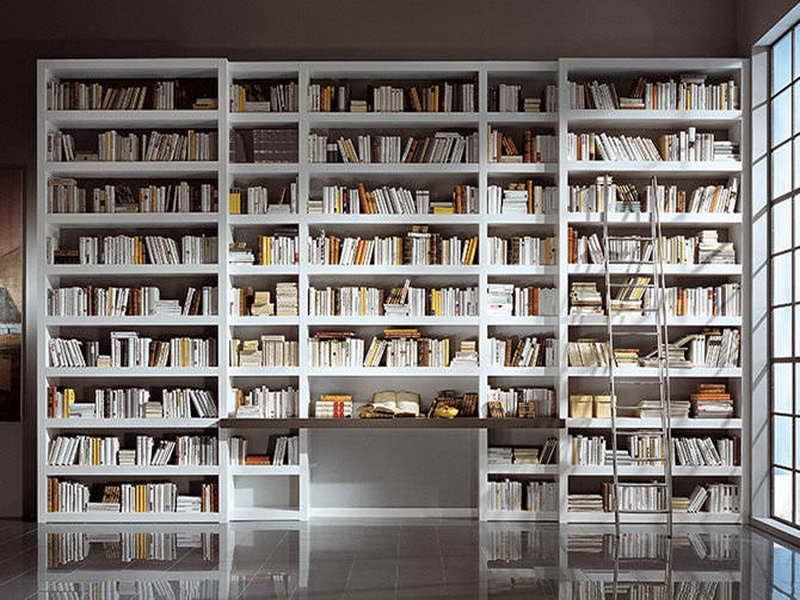 Деревянные стеллажи и библиотеки