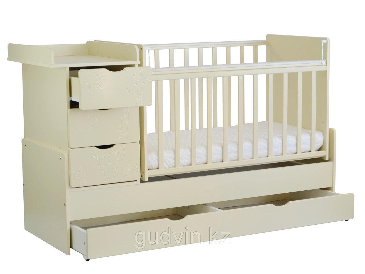Десткая удобная кроватка