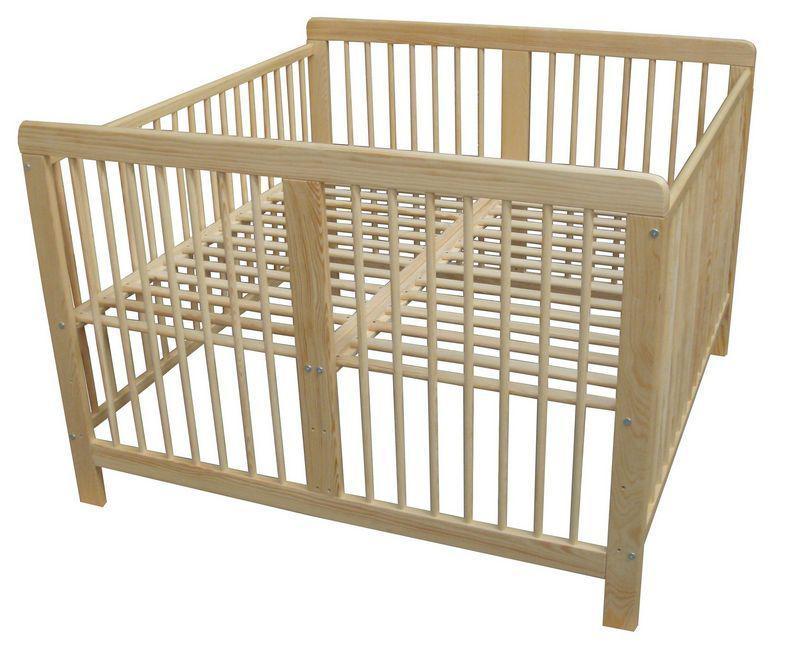 Детская деревянная кроватка-диван