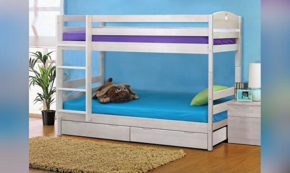 Детская двухъярусная кровать трансформер