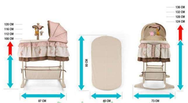 Детская колыбель для новорожденного