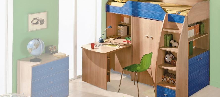 Детская комната с удобной мебелью