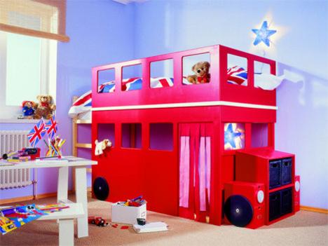 Детская кровать-автобус своими руками