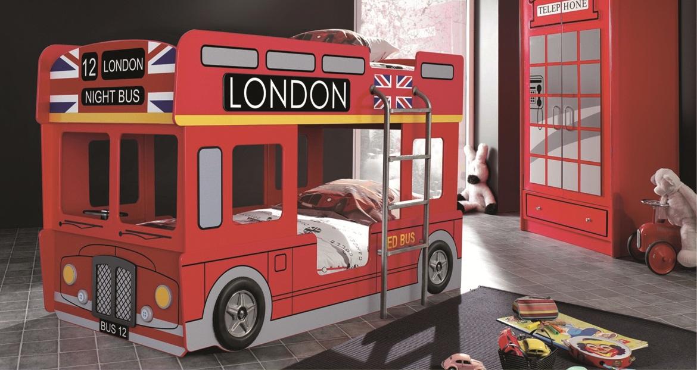 Детская кровать-автобус