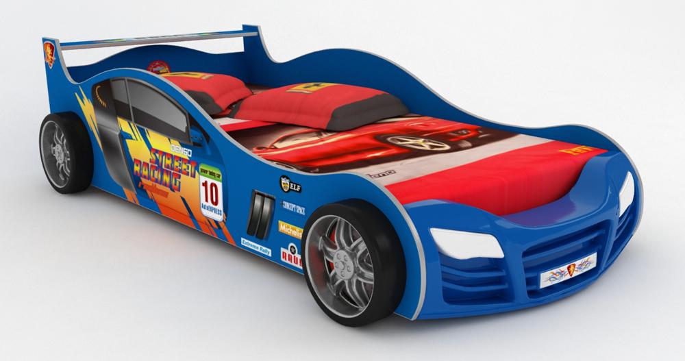 Детская кровать-машина Грифон Стайл