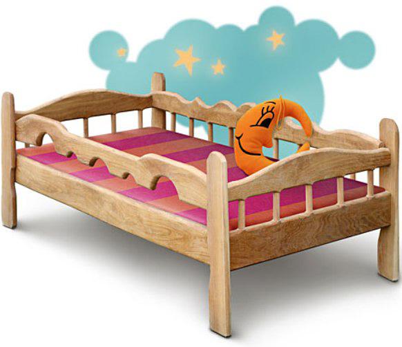 Детская кровать в оригинальном дизайне