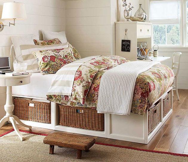 Детская кровать в стиле прованс