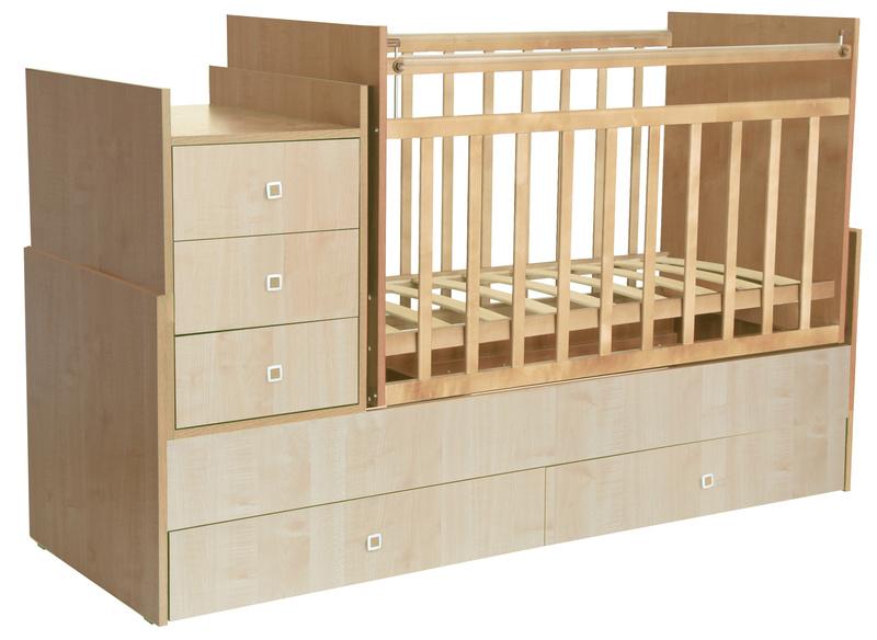 Детская кроватка с ортопедическим дном